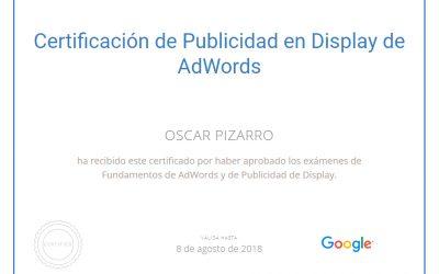 La publicidad en Google Adwords.